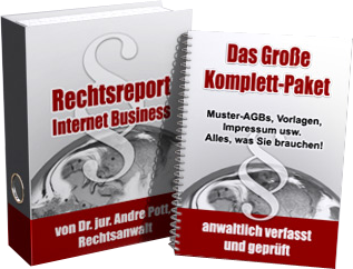 Rechtsreport Internet-Business